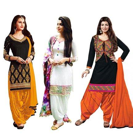 Top Collection of Stylish Patiyala Salwar Suits