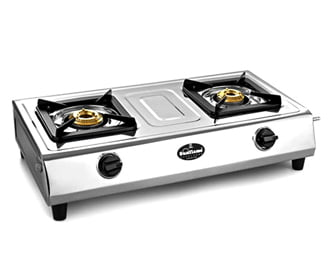 Sunflame Stainless Steel 2 Burners Cooktop