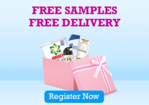 register and get free sample new