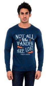Dfh Blue T shirt Full Sleeves DFH