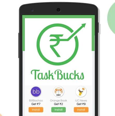 Free Paytm Cash Free Recharge with Task Bucks