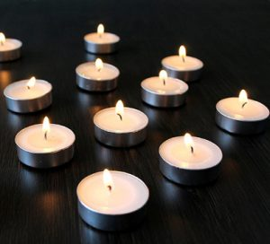 Hosley Unscented Tealights Set of 50 1