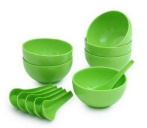 Soup Bowl Set with Spoon of 12 pcs in Rs