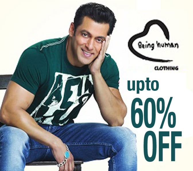 upto 60 off on being human clothing