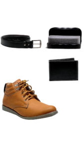 AT Classic Beige Casual Shoes With Free Combo AT Classic