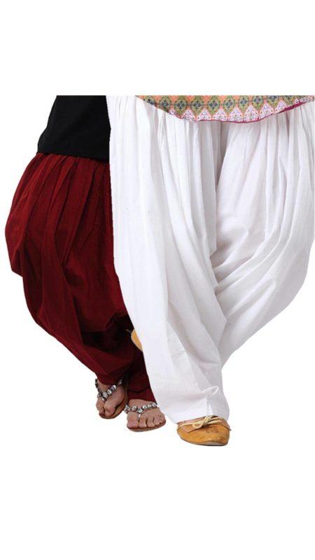 Aastik Set of 2 Cotton Patiala Salwar Aastik