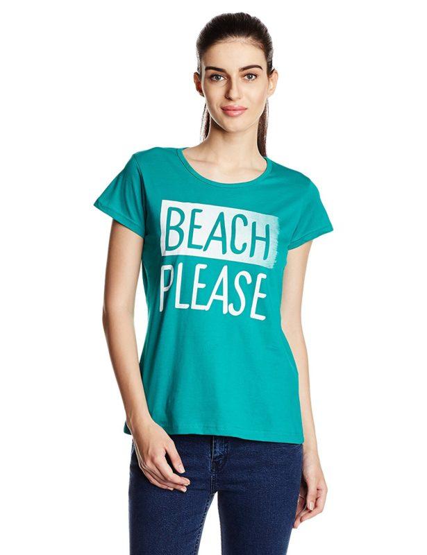 Cloth Theory Womens Graphic Print T Shirt