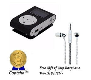 HTC One Rechargeable MP3 Player with Earphone