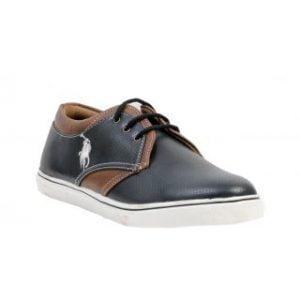 Salt Mens Black Lace up Outdoors Shoes
