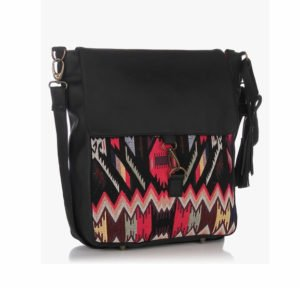 Sangria Cotton Sling Bag in Rs