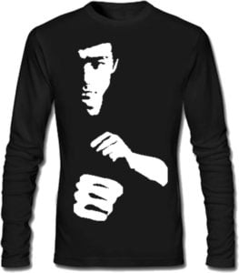 SayItLoud Printed Mens Round Neck Black T Shirt