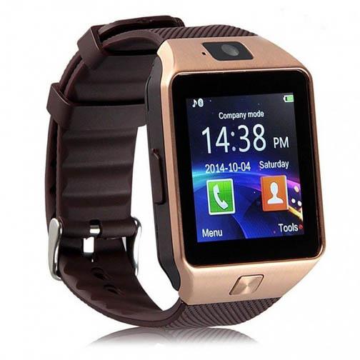 Smart Wrist Watch Mobile With Sim Card Bluetooth Camera