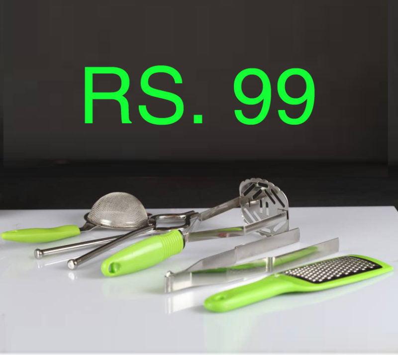 Amiraj Kitchen Tool Set in Rs. 99