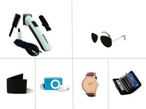 Kriva Enterprise Trimmer with Fashion Accessories and MP3 Player Combo of 6 KRIVA217....