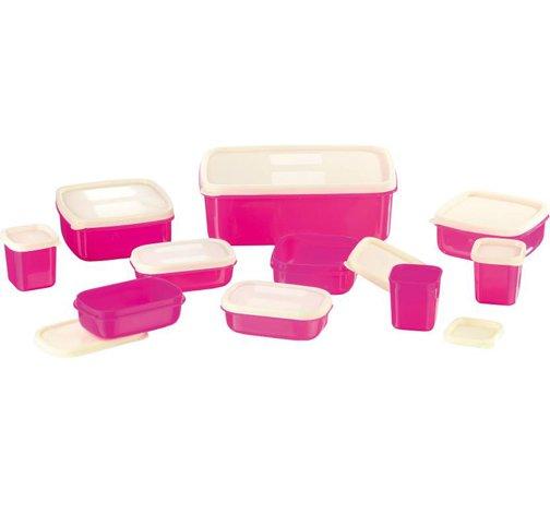 Plastic Multi purpose Storage Container set of 10