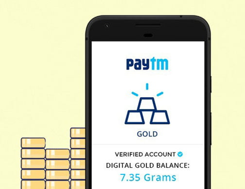 Buy Store and Sell Gold Online with Paytm