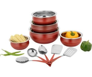 Classic Essentials Stainless Steel Cookware Set