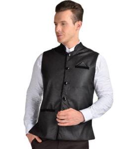 FDN Solid Mens Waistcoat