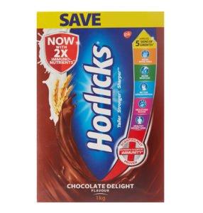 Horlicks Health Nutrition Chocolate flavor 1 kg