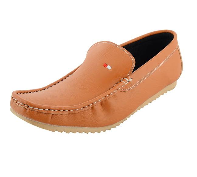 LeatherKraft Mens Causal Loafers Lowest