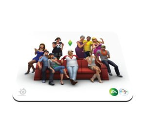 SteelSeries Qck The Sims 4 Edition 3d Mouse Page