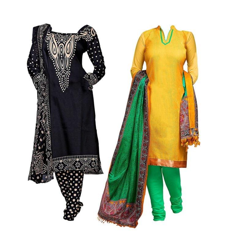 dress material combo offer cotton dress material combo dress materials for women combo combo of dress material by AppleCreation