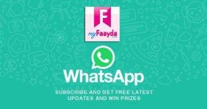 myfaayda whatsapp deal alert