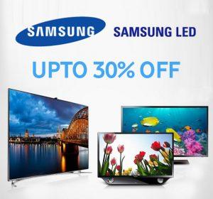 Buy Samsung LED TVs with Mega Discounts Additional Offer