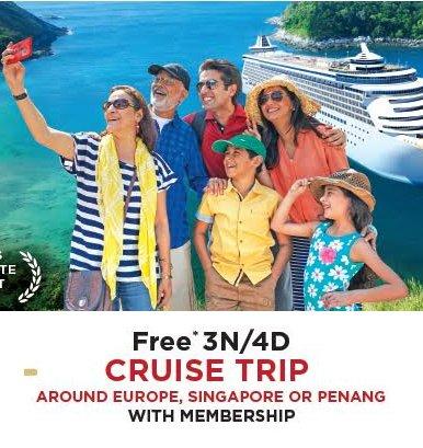 Free 3 Night 4 Days Cruise Trip with Club Mahindra