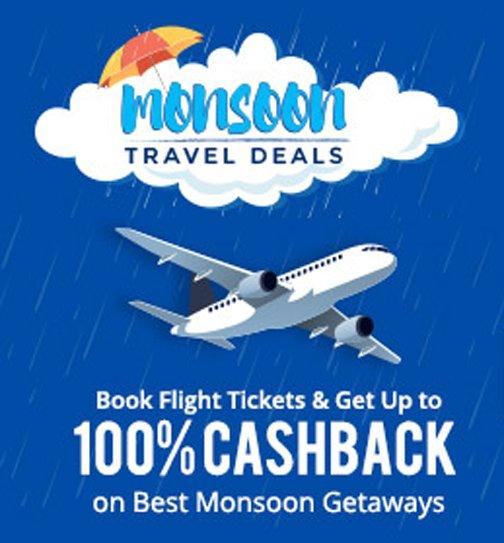 Get Upto 100 Cashback on Flight Booking with Paytm