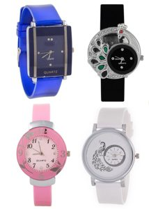 Gopal Shopcart Latest Designer Watches Combo Offer for Girls and Women