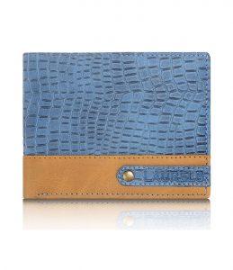 Laurels Ranger Blue Color Mens Wallet