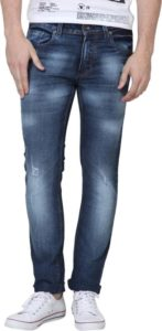 Super X Skinny Mens Blue Jeans