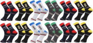 Zacharias Mens Ankle Length Socks Pack of 12