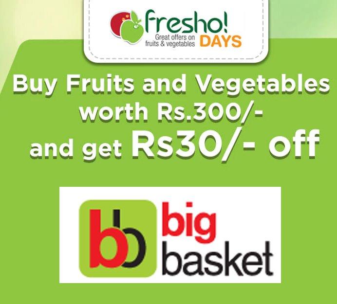 Buy Fruits Vegetable with Huge Discounts