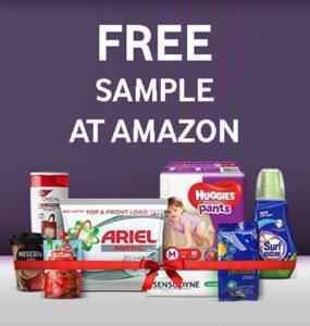 Get Free Samples at Amazon Pantry Store