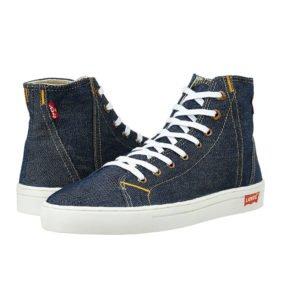 Levis Mens Denim Sneakers
