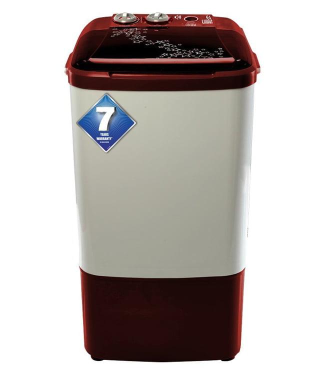 Onida 6.5 kg Lava Red Washing Machine