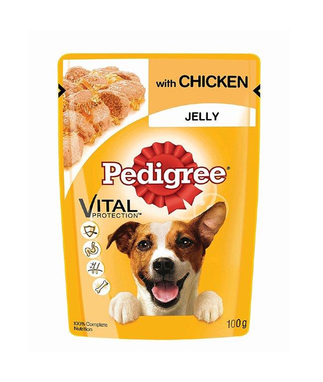 Pedigree Gravy Adult Dog Food Pouch Chicken in Jelly 100g