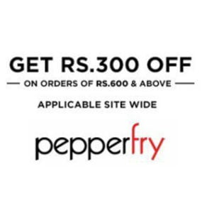 Pepperfry Get Flat Rs 300 off on Order of Rs 600