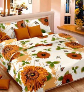 Premium Double Bed Sheets with Pillow Covers
