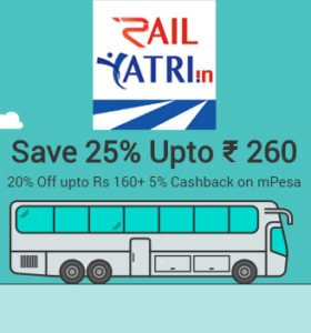 Save Upto 25 on Bus Tickets with Railyatri