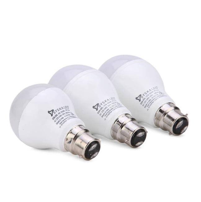 Syska Buy 15 W Led Lights and Get 9 W LED Bulb Free
