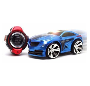 Voice Command Watch Controlled Race Car With Led Lights