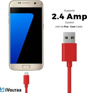 iVoltaa iVFK Sync Charge Cable Red