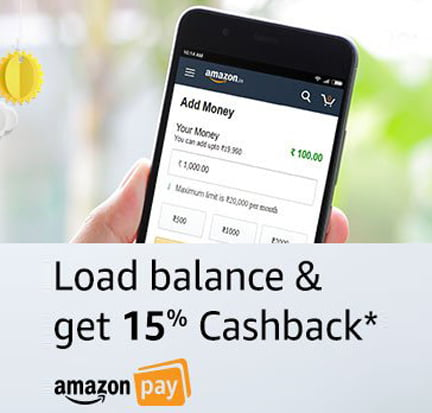 Add Cash in Amazone Pay Balance and Get 15 Cashback Free
