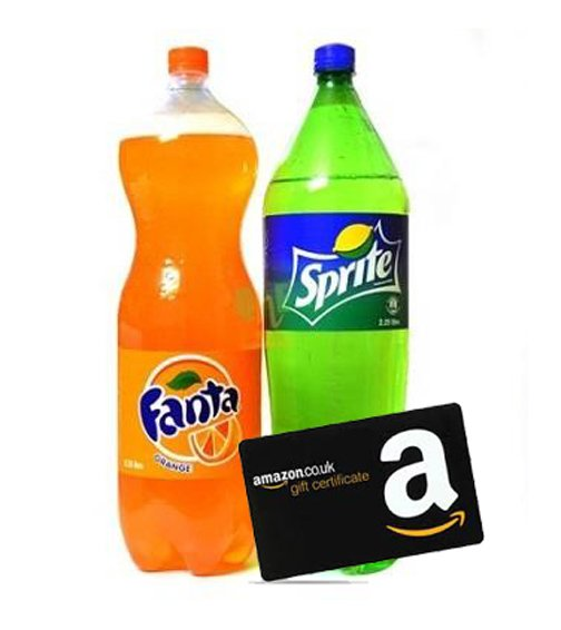 Buy Fanta Limca or Sprite Get Free Amazon Gift Card