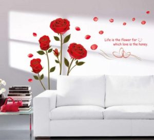 Extra Large PVC Vinyl Wall Stickers Starting Rs. 109