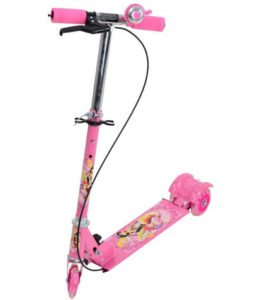 Foldable Brake and Bell Scooter for Kids