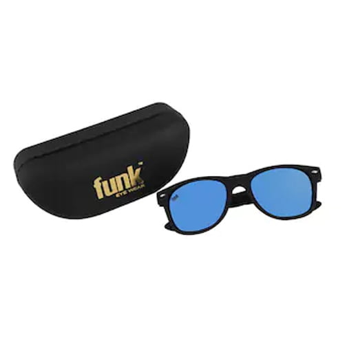 Funk Blue Mercury Stylish Unisex Wayfarer Sunglasses